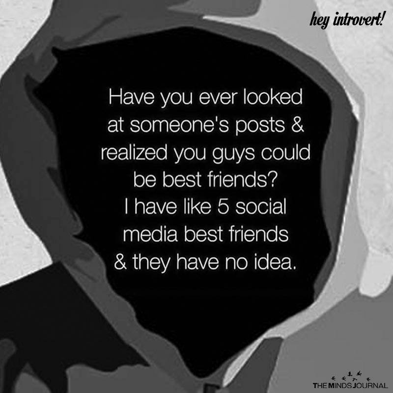 Have You Ever Looked At Someone's Posts