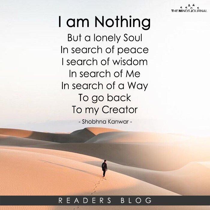 I am Nothing...