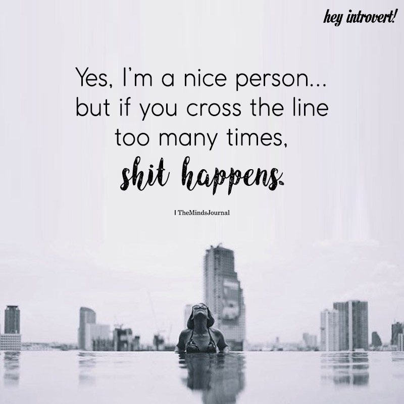 Yes, I'm A Nice Person