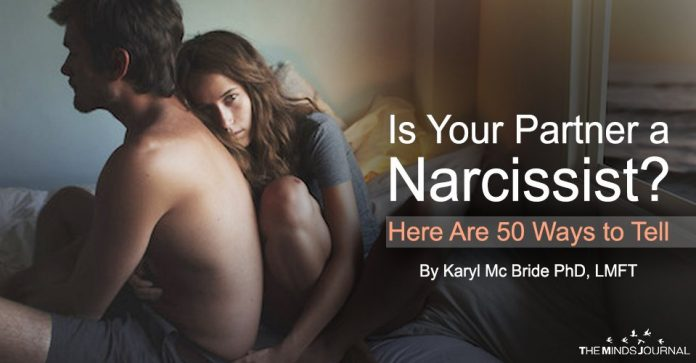 Is Your Partner a Narcissist Here Are 50 Ways to Tell