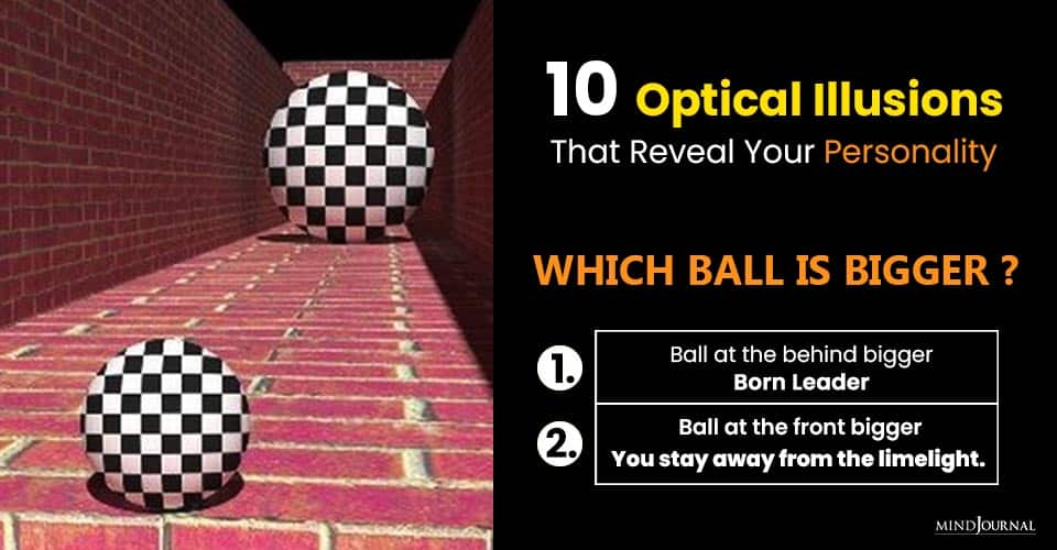 Moving Optical Illusions That'll Trick Your Brain Reveal Your Personality