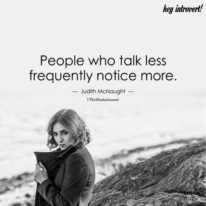 People Who Talk Less