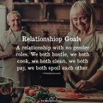 A relationship with no gender roles