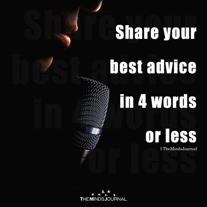 Share Your Best Advice