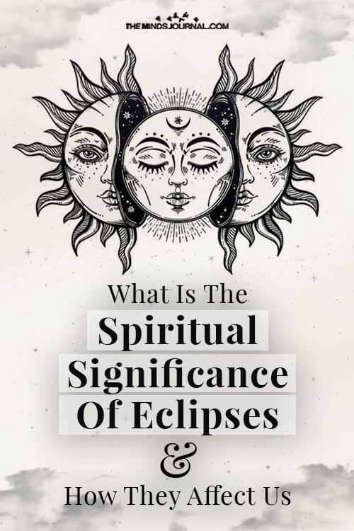 Spiritual Significance Of Eclipses how Affect Us Pin