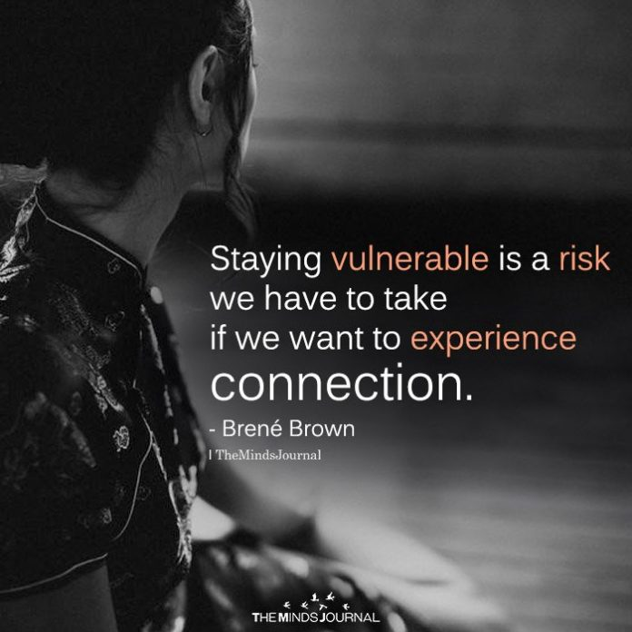 Staying Vulnerable Is A Risk