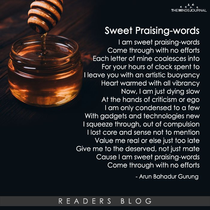 Sweet Praising-words