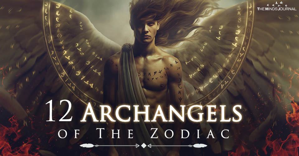 91b169f9e The 12 Archangels and their Connection With The Zodiac Signs