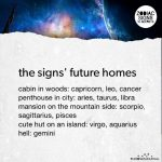 The Signs' Future Homes