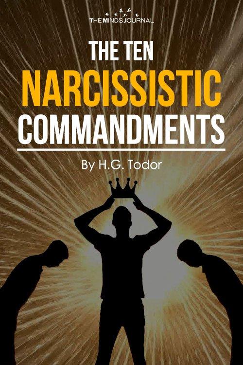 The Ten Narcissistic Commandments