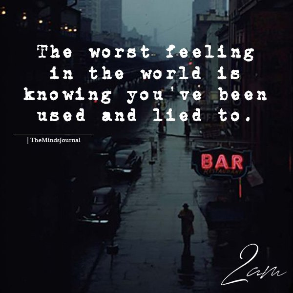 The Worst Feeling In The World The Minds Journal