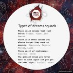 Types Of Dreams Squads