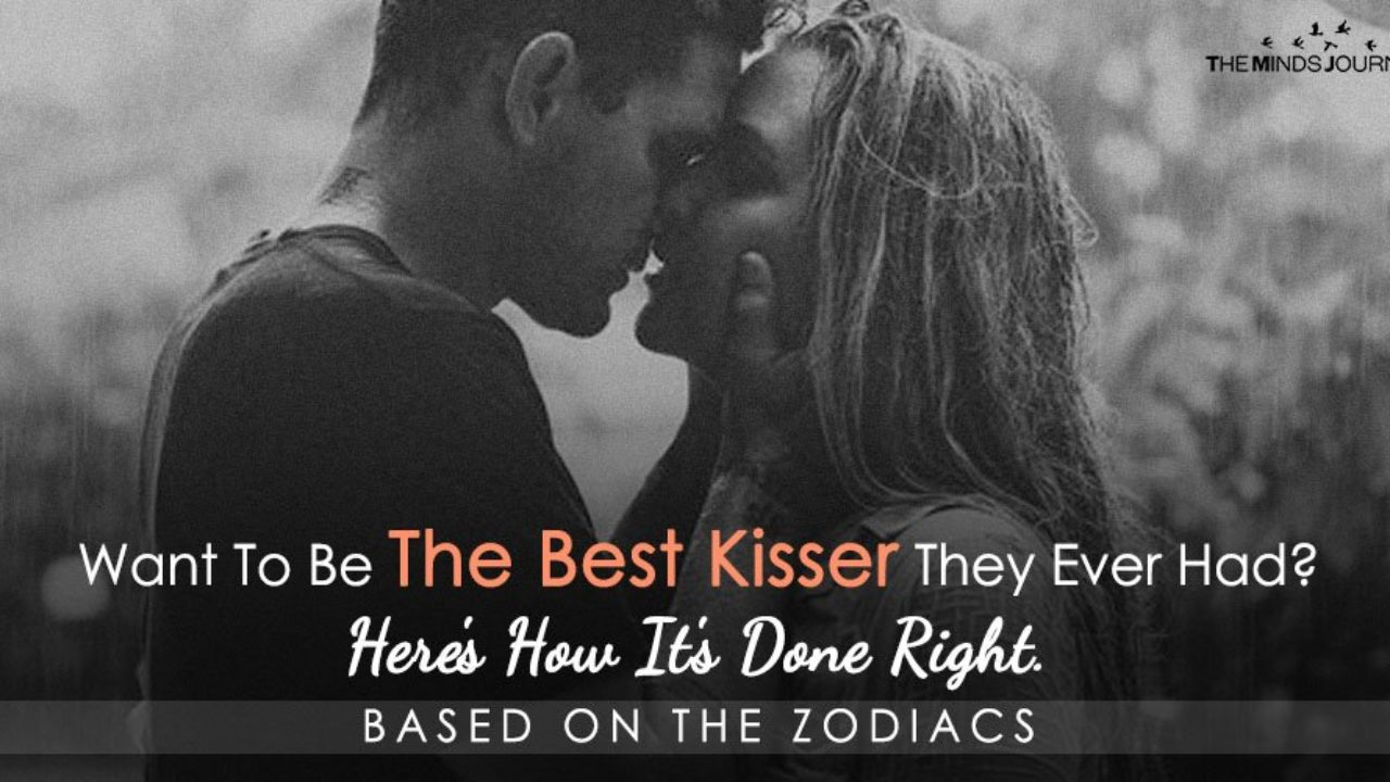Want To Be The Best Kisser They Ever Had? Here's How It's Done Right