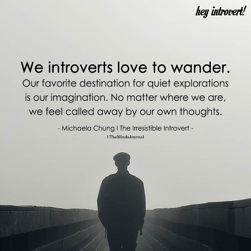 We Introverts Love To Wonder