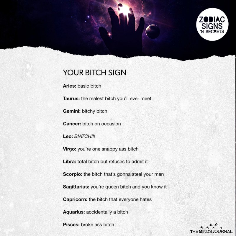 Your Bitch Sign