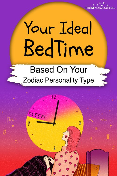 Your Ideal Bed Time Based On Your Zodiac Personality Type