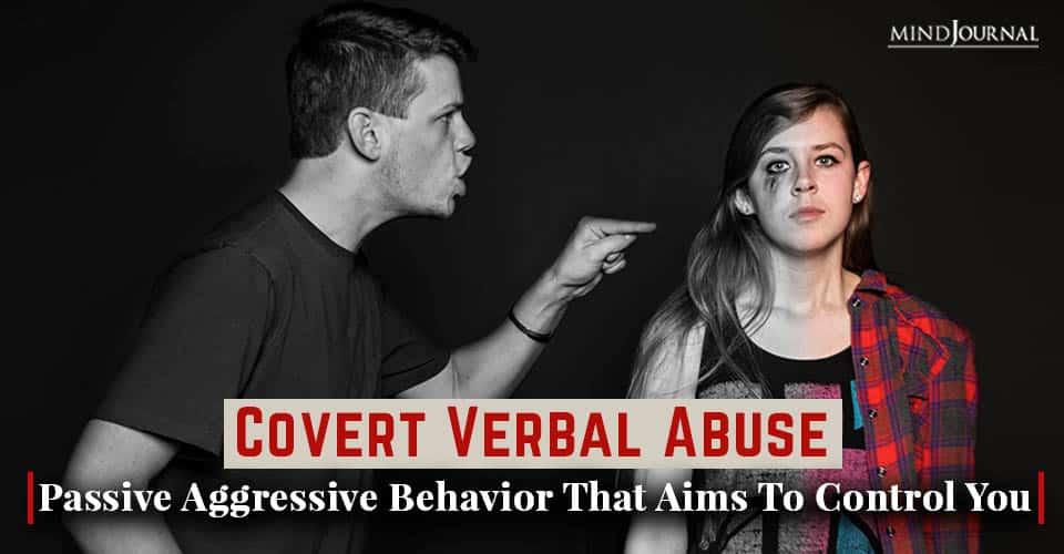 covert verbal abuse