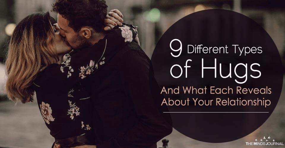 9 Different Types of Hugs And What Each Reveals About Your Relationship