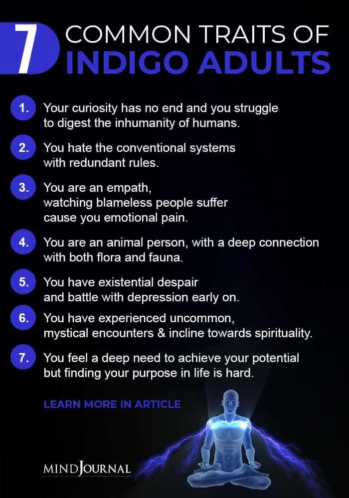 Common Traits Indigo Adults