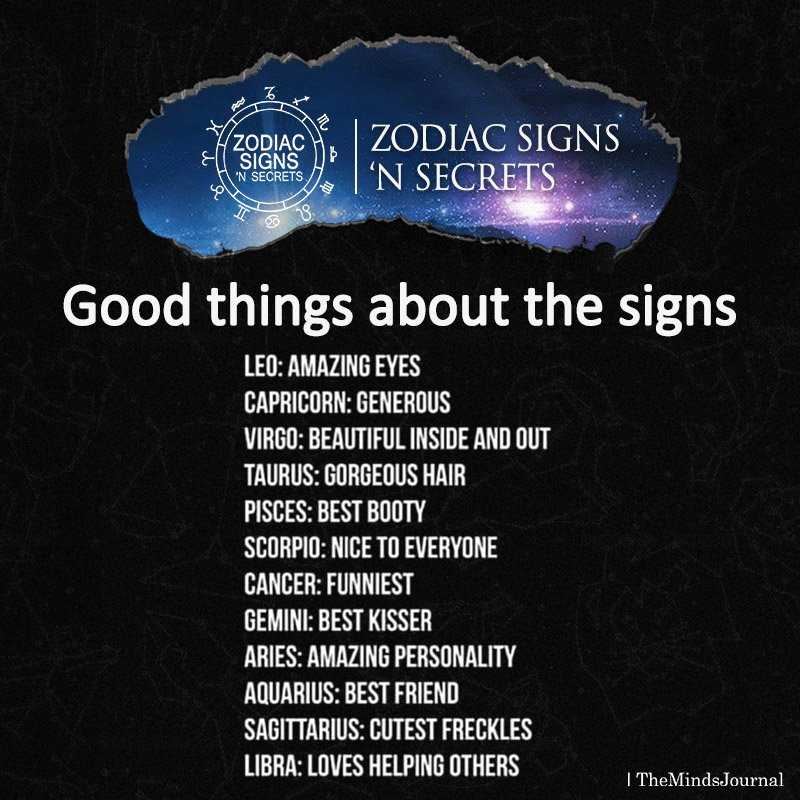 Good Things About The Signs