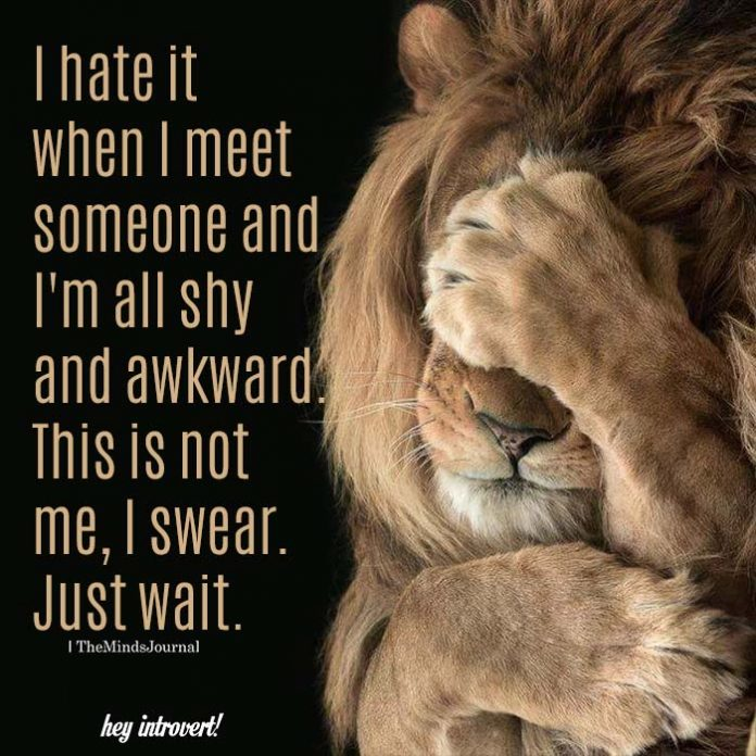 I Hate It When I Meet Someone