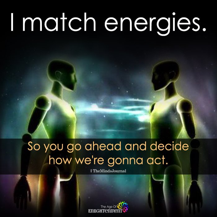 I Match Energies