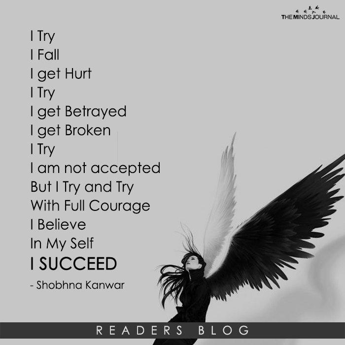 I Try.....
