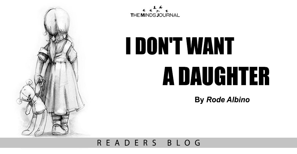 I don't want a Daughter
