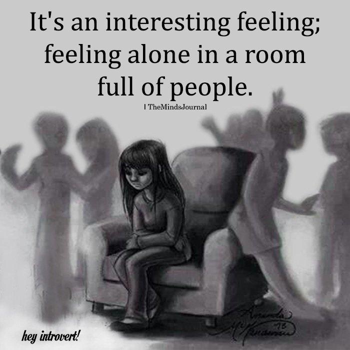 It's An Interesting Feeling