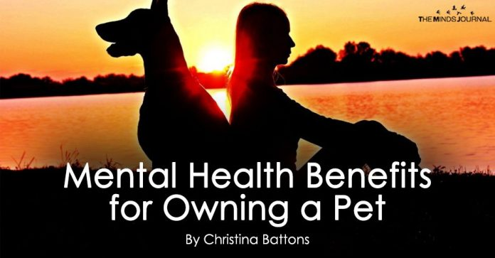 Mental Health Benefits for Owning a Pet