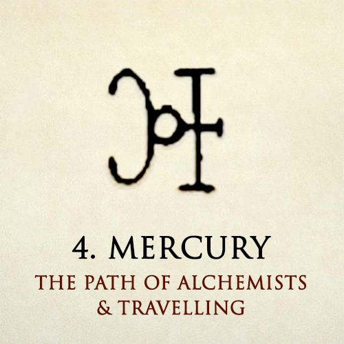 Mercury – the Path of Alchemists & Travelling