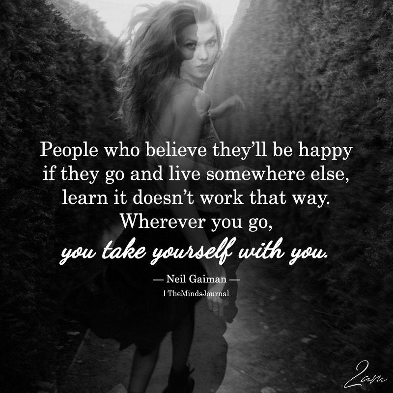 People Who Believe They'll Be Happy