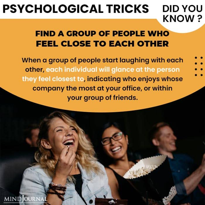 Psychological Tricks Dealing People group of people feel each other
