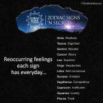 Reoccurring Feelings Each Sign has Everyday