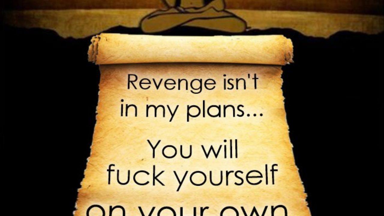 Revenge Isn't In My Plans
