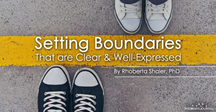 Setting Boundaries That are Clear & Well-Expressed
