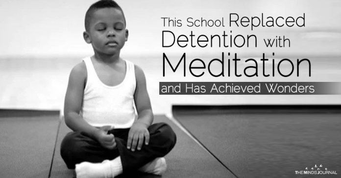 This School Replaced Detention with Meditation and Has Achieved Wonders