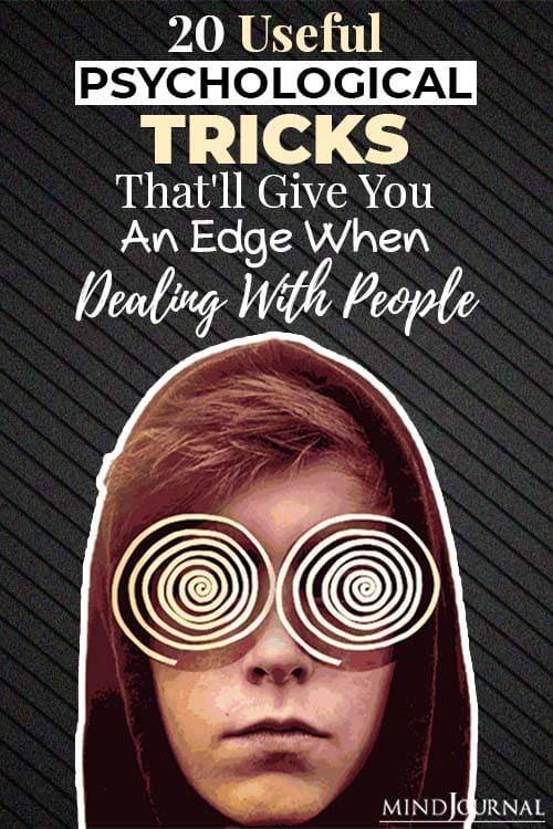 psychological tricks dealing people pin