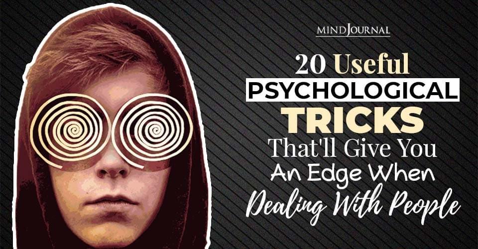 psychological tricks dealing people