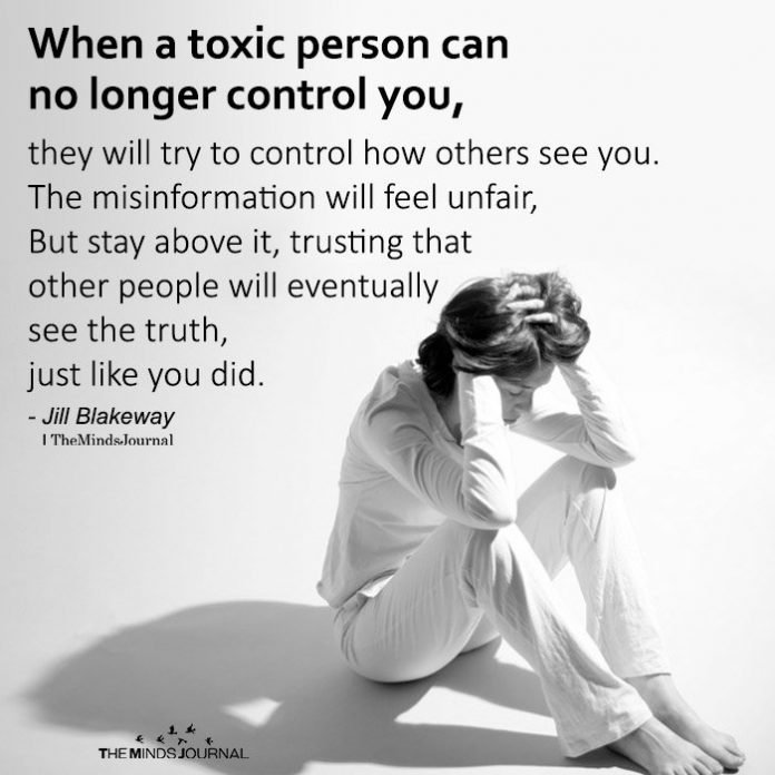 miserable people are toxic