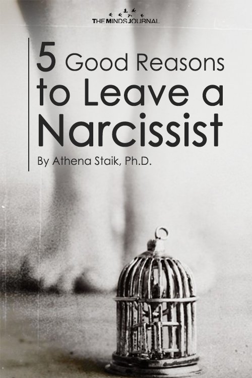 5 Good Reasons To Leave a Narcissist