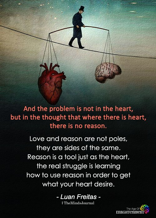 And The Problem Is Not In The Heart