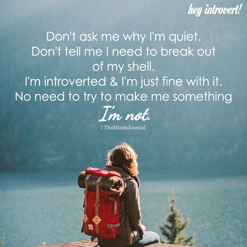 The Quiet Introvert: 5 Reasons Why An Introvert Isn't Talking