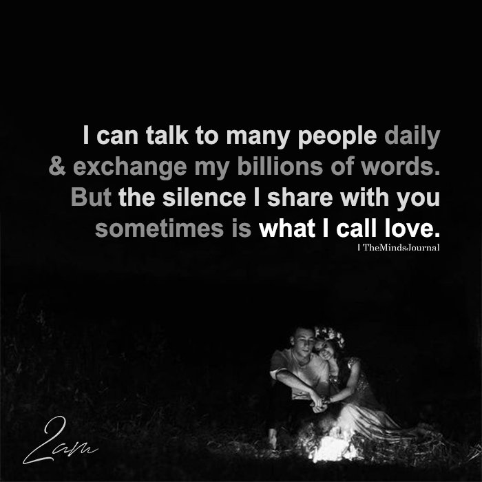 I Can Talk To Many People Daily & Exchange My Billions Of Words