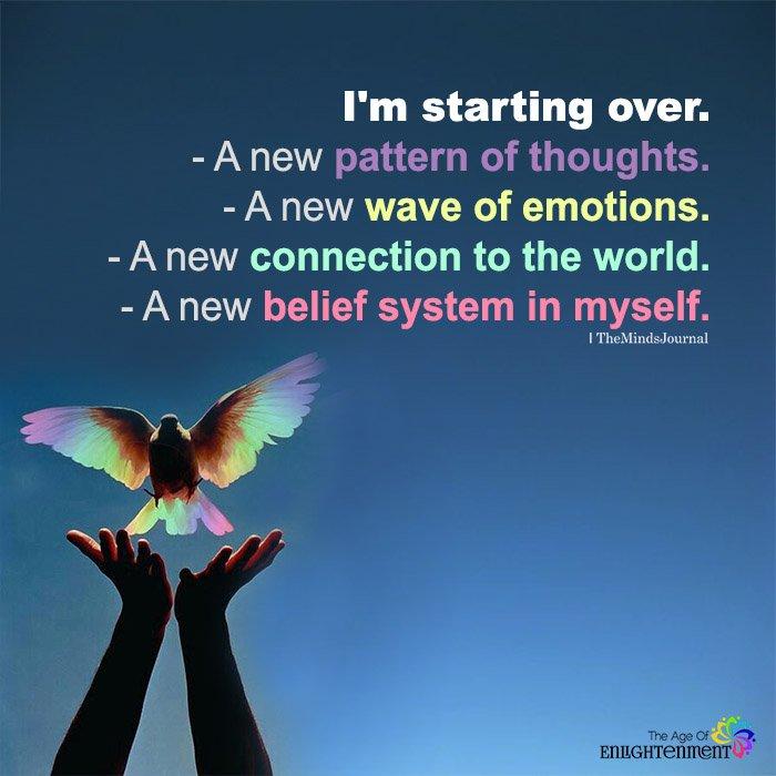 I'm Starting Over