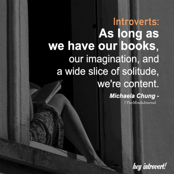 Introverts As Long As We Have Our Books