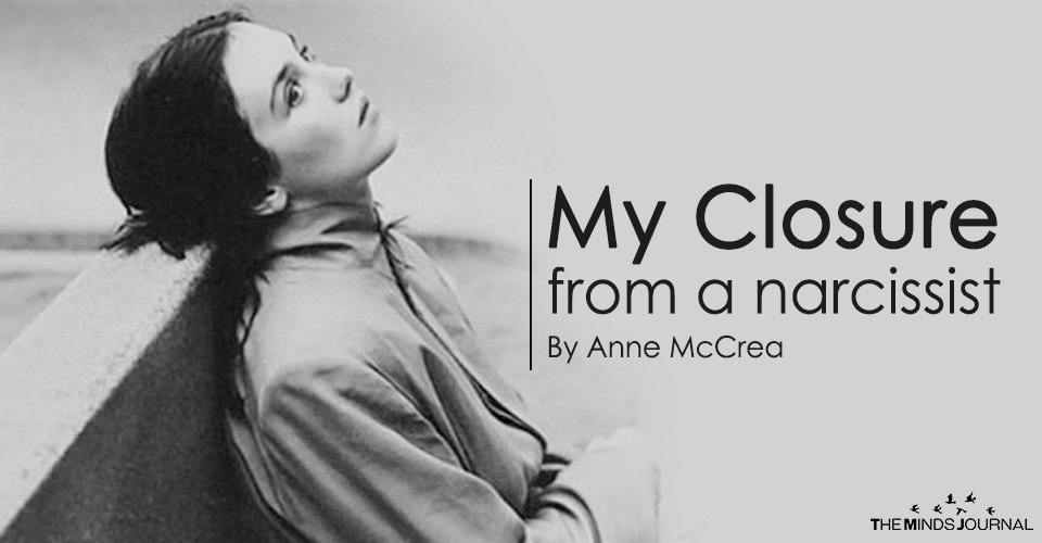 MY CLOSURE from a Narcissist