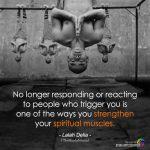 No Longer Responding Or Reacting To People