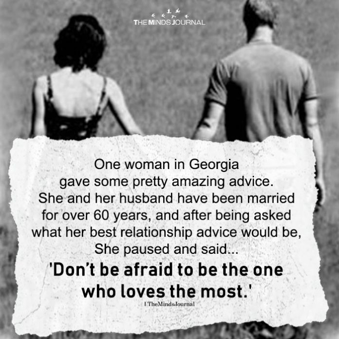 One Woman In Georgia Gave Some Pretty Amazing Advice