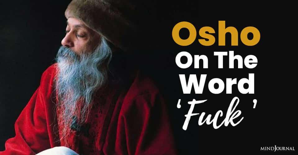 Osho on Word Fuck